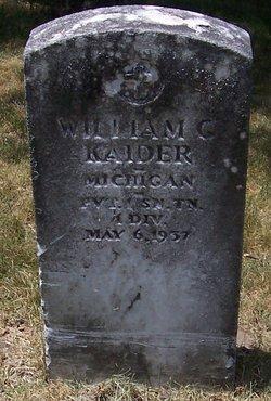 William C Kaider