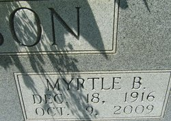 Myrtle Angeline <I>Bentley</I> Johnson