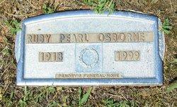 Ruby Pearl Osborne