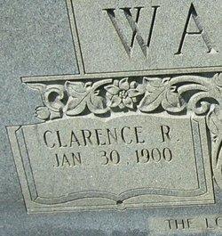 Clarence R Walker