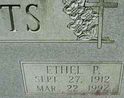Ethel Mae <I>Phillips</I> Watts