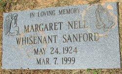 Margaret Nell <I>Whisenant</I> Sanford