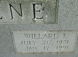 Willard F Greene