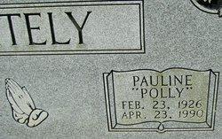 """Fern Pauline """"Polly"""" <I>Kennedy</I> Whitely"""