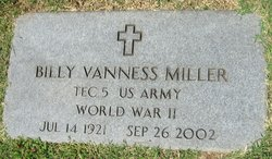 Billy Vanness Miller