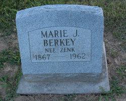 Marie J <I>Zenk</I> Berkey