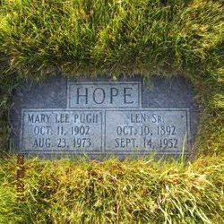 Mary Lee <I>Pugh</I> Hope