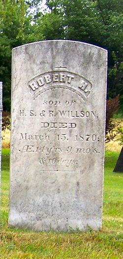 Robert H Willson