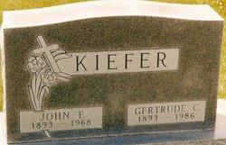 Gertrude Cecelia <I>Meurer</I> Kiefer