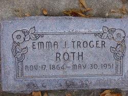 Johanne Emma <I>Miller</I> Roth