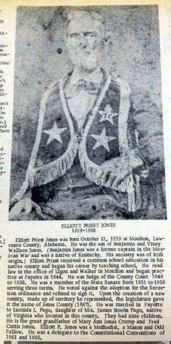Elliott Priest Jones