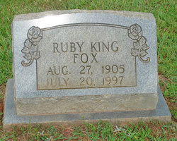 Ruby <I>King</I> Fox