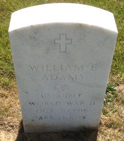 """William E. """"Bill"""" Adams"""