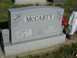 Betty June McCarty