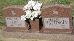 Nellie A Mattingly