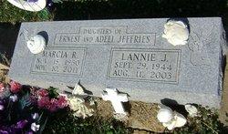 Lannie J <I>Jeffries</I> Tidwell