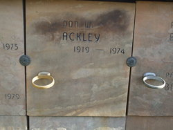 Don W. Ackley