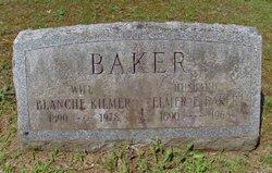 Blanche <I>Kilmer</I> Baker