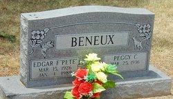 "Edgar F. ""Pete"" Beneux"