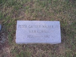 Peter Gautier Walker III