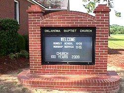 Oklahoma Baptist Church Cemetery