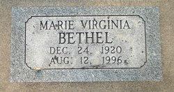 Marie Virginia <I>Bethel</I> Carney