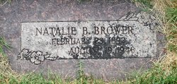Natalie May <I>Berry</I> Brower