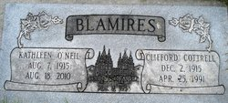 Clifford Cottrell Blamires