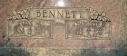 Charlotte Ellen <I>Webb</I> Bennett