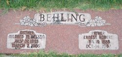 Mildred Marie <I>Nelson</I> Behling