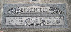 Carol Virginia <I>Hyde</I> Birkenfeld