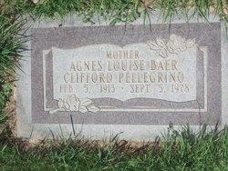 Agnes Louise <I>Baer</I> Pellegrino