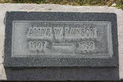 Allye W. Lawson
