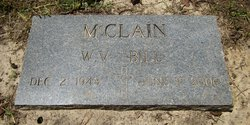 "William V ""Bill"" McClain"