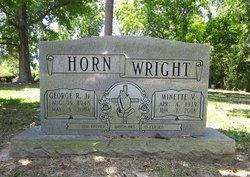 Minette V Wright