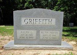 Ruth <I>Payne</I> Griffith