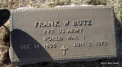 Frank William Butz