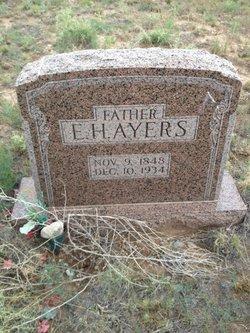 Edgar Harvey Ayers