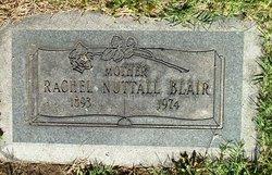 Rachel <I>Nuttall</I> Blair