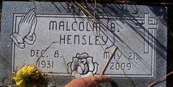 Malcolm Hensley