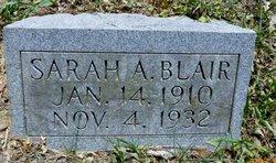 Sarah Anzoney <I>Riley</I> Blair