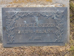 Lawrence Edward Anderson