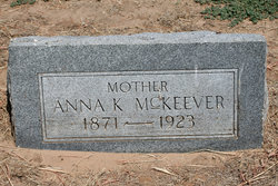 Anna K. <I>Robinson</I> McKeever