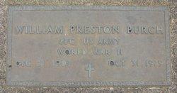 William Preston Burch