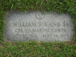 Corp William F. Kane