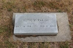 Ruth V <I>Andrews</I> Parish