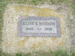 Elsie E <I>Ekstrom</I> Hanson