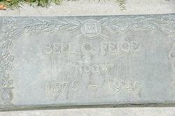 Belle C <I>Hill</I> Feige