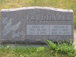 "William Barr ""Willie"" Faulhaber"