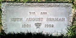 Ruth <I>August</I> Berman
